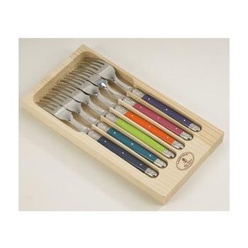 Set 6 furculițe din inox, în cutie de lemn Jean Dubost London bonami.ro