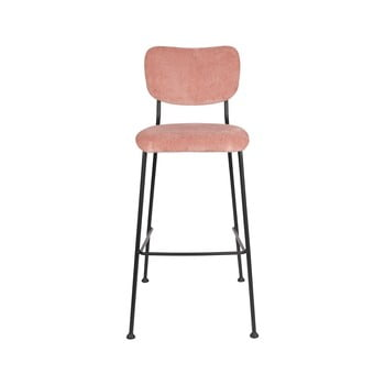 Set 2 scaune de bar Zuiver Benson, înălțime 102,2 cm, roz imagine