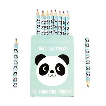 Set 10 creioane în husă cu model cu panda Rex London bonami.ro