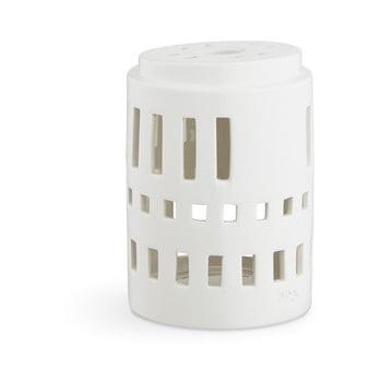 Sfeșnic din ceramică Kähler Design Urbania Lighthouse Little Tower, alb bonami.ro