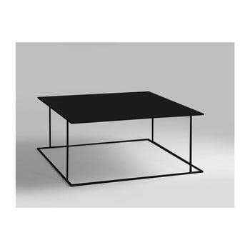 Masă de cafea Custom Form Walt, 80 x 80 cm, negru bonami.ro