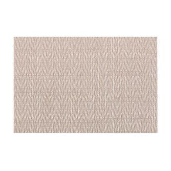 Suport pentru farfurie Tiseco Home Studio Chevron, 45 x 30 cm, maro gri bonami.ro