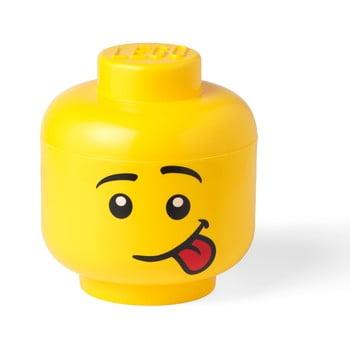 Cutie depozitare LEGO® Silly L, galben bonami.ro