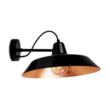 Aplică Bulb Attack Cinco Basic, negru - arămiu bonami.ro