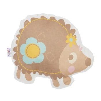 Pernă din amestec de bumbac pentru copii Mike&Co.NEWYORK Pillow Toy Hedgehog, 28 x 25 cm bonami.ro