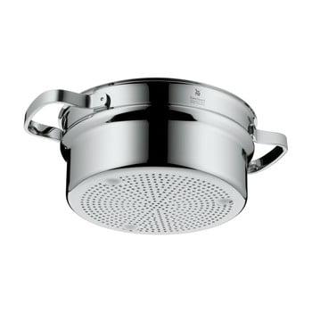 Oală din oțel inoxidabil pentru gătit pe aburi WMF Cromargan® Steam, ⌀ 20 cm poza bonami.ro