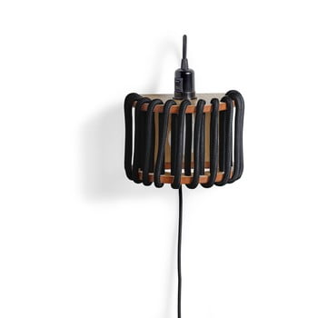 Aplică din lemn EMKO Macaron, lungime 20 cm, negru bonami.ro