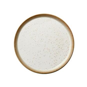 Farfurie din gresie ceramică Bitz Basics Cream, ⌀ 21 cm, crem poza bonami.ro