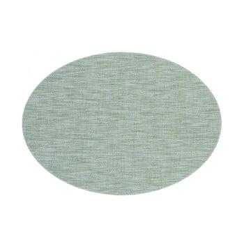 Suport pentru farfurie Tiseco Home Studio Oval, 46 x 33 cm, verde poza bonami.ro
