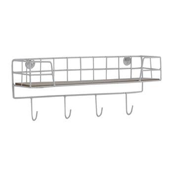 Raft perete Geese Wire, alb bonami.ro