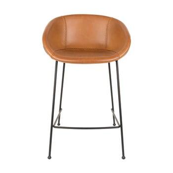 Set 2 scaune bar Zuiver Feston, înălțime scaun 65cm, maro imagine