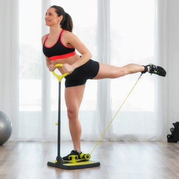 Platformă fitness cu ghid de exerciții pentru mușchii fesieri şi picioare InnovaGoods Fitness bonami.ro