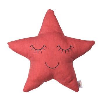 Pernă din amestec de bumbac pentru copii Mike&Co.NEWYORK Pillow Toy Star, 35 x 35 cm, roșu bonami.ro