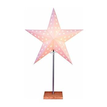 Decorațiune luminoasă Best Season Star, înălțime 65 cm, alb bonami.ro