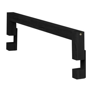 Panouri laterale din lemn de pin pentru patul Benlemi Safety, lungime 90 cm, negru poza bonami.ro