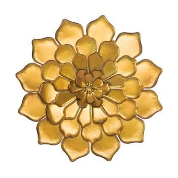 Decorațiune de perete Mauro Ferretti Goldie, ø 62,5 cm, auriu poza bonami.ro