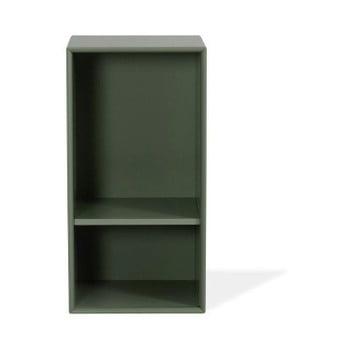 Etajeră Tenzo Z Halfcube, 36 x 70 cm, verde închis imagine