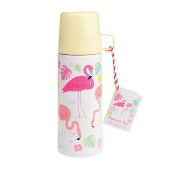 Termos cu cană Rex London Flamingo Bay, 350 ml bonami.ro