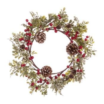 Coroniță pentru Crăciun cu conuri Unimasa Snowy, ø 40 cm bonami.ro