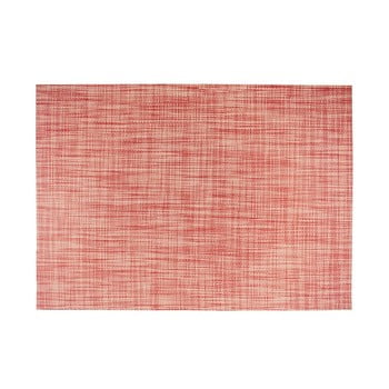 Suport pentru farfurie Tiseco Home Studio Melange Simple, 30x45cm, roșu bonami.ro