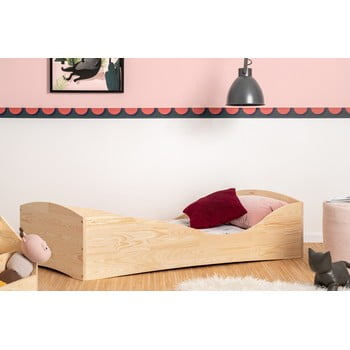Pat din lemn de pin pentru copii Adeko Pepe Elk,80x190cm