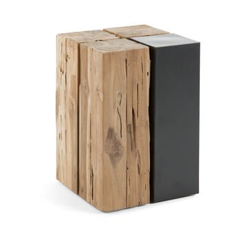 Noptieră din lemn de tec La Forma Ognak imagine
