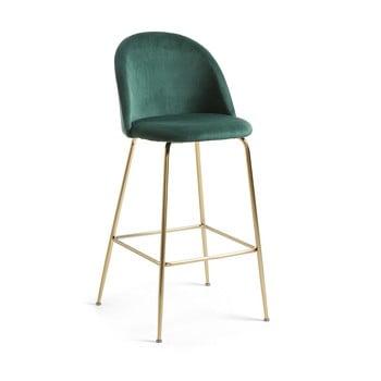 Scaun bar La Forma Mystere, înălțime 108 cm, verde imagine