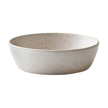 Bol servire din gresie ceramică Bitz Basics Matte Cream, ⌀ 18 cm, crem bonami.ro