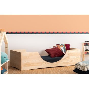 Pat din lemn de pin pentru copii Adeko Pepe Bork,80x180cm bonami.ro