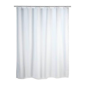 Perdea duș Wenko, 180 x 200 cm, alb bonami.ro