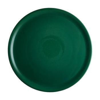 Farfurie din porțelan pentru pizza Brandani Pizza, ⌀ 31 cm, verde bonami.ro