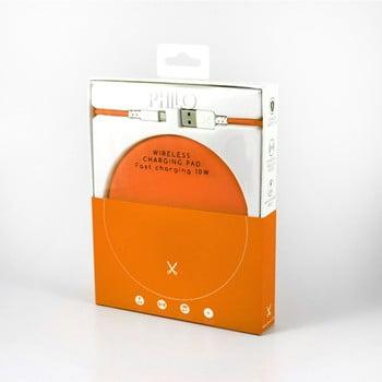 Stație pentru încărcat Philo Energy, portocaliu poza bonami.ro