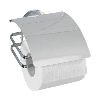 Suport autoadeziv pentru hârtia de toaletă Wenko Turbo-Loc, până la 40 kg poza bonami.ro