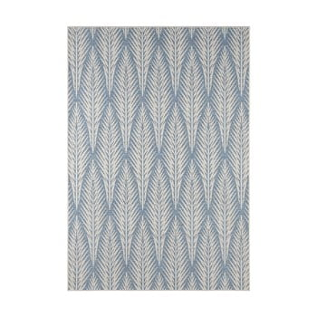 Covor de exterior Bougari Pella, 200 x 290 cm, gri - albastru bonami.ro