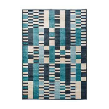 Covor Universal Farashe Stripes, 120 x 170 cm, albastru imagine