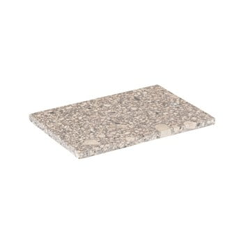 Platou / tocător servire Blomus Stone, lungime 20 cm, bej poza bonami.ro