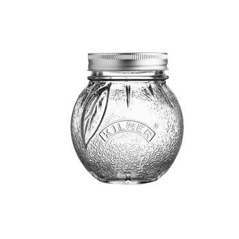 Borcan din sticlă cu capac Kilner Orange, 0,4 L poza bonami.ro