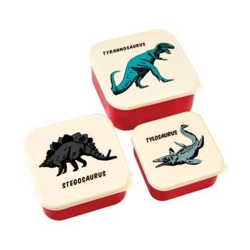 Set 3 cutii pentru gustări Rex London Prehistoric Land poza bonami.ro