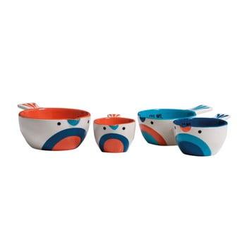 Set 4 cupe de măsurat Premier Housewares Pretty Things Birdy poza bonami.ro