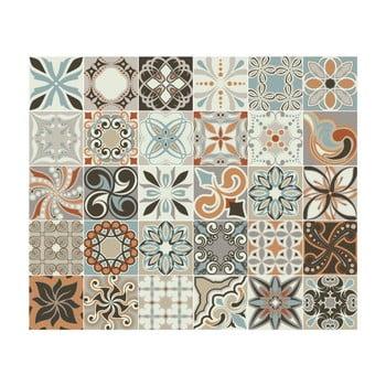 Set 30 autocolante de perete Ambiance Cement Tiles Bali, 15 x 15 cm bonami.ro