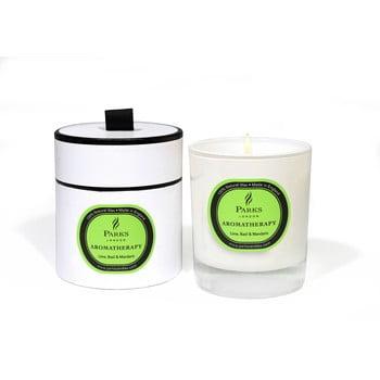 Lumânare parfumată Parks Candles London Aromatherapy, aromă de busuioc și mandarine, durată ardere 50 ore bonami.ro