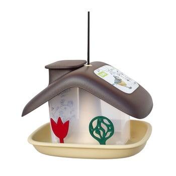 Căsuță pentru păsări Plastia Domek, maro bonami.ro