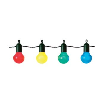 Șirag luminos LED-uri colorate pentru exterior Best Season Party, 20 becuri bonami.ro