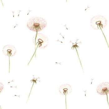 Tapet cu model floral Dekornik Dandelions poza bonami.ro