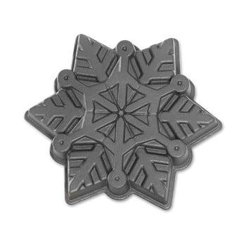 Formă pentru copt Nordic Ware Snowflake, 1,4 l, argintiu bonami.ro
