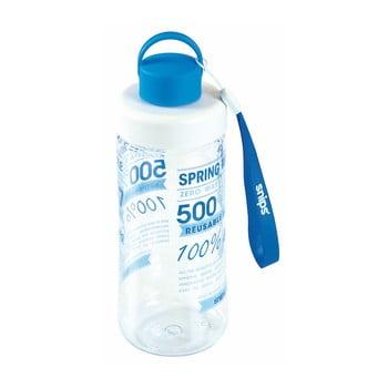 Sticlă de apă Snips Decorated, 500 ml, albastru poza bonami.ro