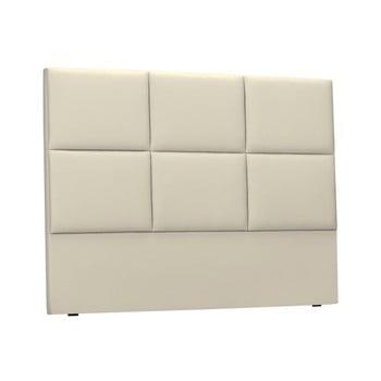 Tăblie tapițată pentru pat THE CLASSIC LIVING Aude, 180x120cm, bej poza bonami.ro