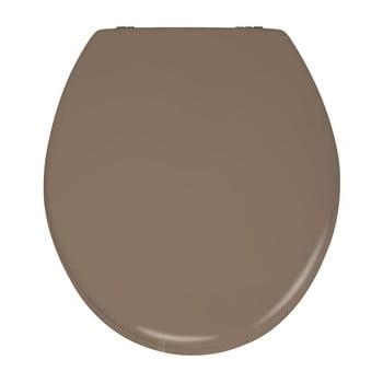 Capac WC din lemn Capac WC Wenko Prima, 41 x 38 cm, bej mat poza bonami.ro