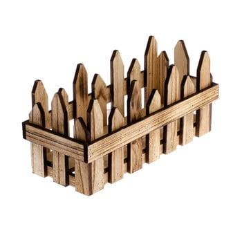 Cutie din lemn Dakls Natura, 18 x 33 cm poza bonami.ro