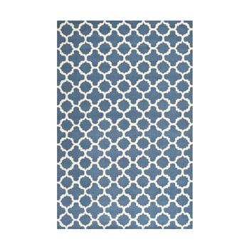 Covor de lână Safavieh Bessa 121 x 182 cm, albastru imagine